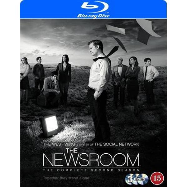 Newsroom: Säsong 2 (4Blu-ray) (Blu-Ray 2014)