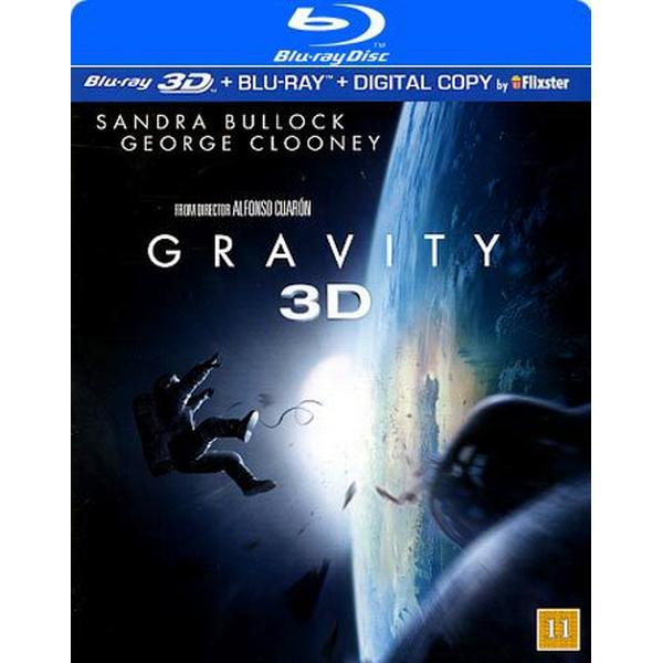 Gravity 3D (Blu-ray 3D + Blu-ray) (3D Blu-Ray 2013)