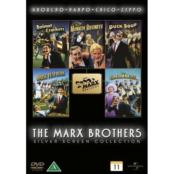 Bröderna Marx Box - 5 filmer (5DVD) (DVD 2012)
