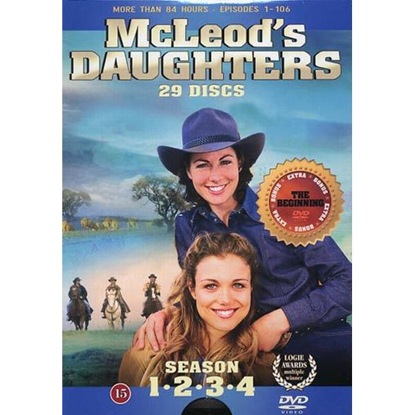 McLeod's daughters: Säsong 1-4 (29DVD) (DVD 2015)