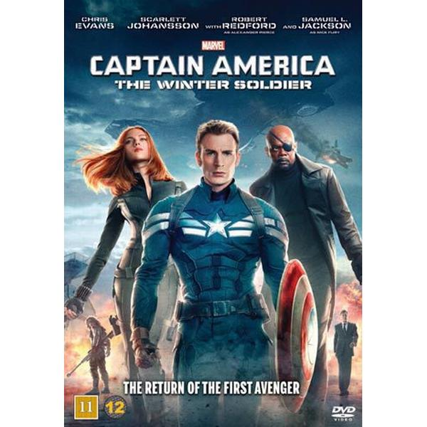 Captain America 2: The Winter soldier (DVD) (DVD 2014)