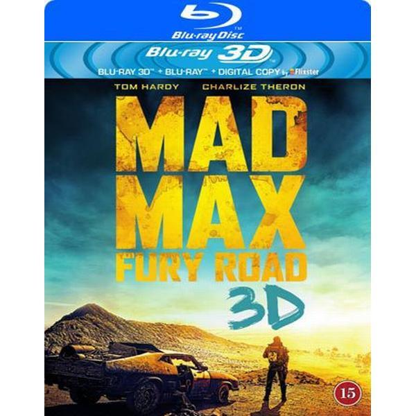 Mad Max - Fury Road 3D (Blu-ray 3D + Blu-ray) (3D Blu-Ray 2015)