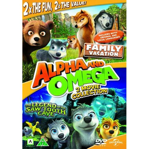 Alpha & Omega 4+5 (2DVD) (DVD 2014)