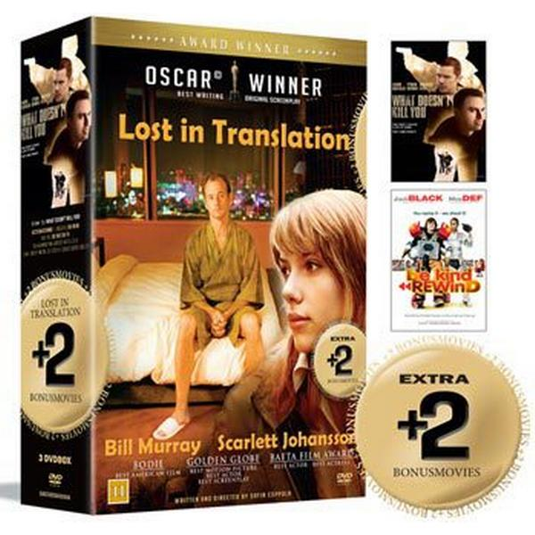 Lost in translation + 2 Bonusfilmer: Box (3DVD) (DVD 2015)