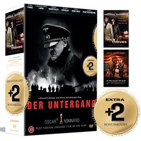 Undergången + 2 Bonusfilmer: Box (3DVD) (DVD 2015)