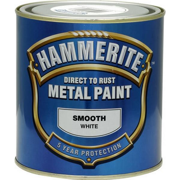 Hammerite Direct to Rust Smooth Effect Metal Paint White 2.5L