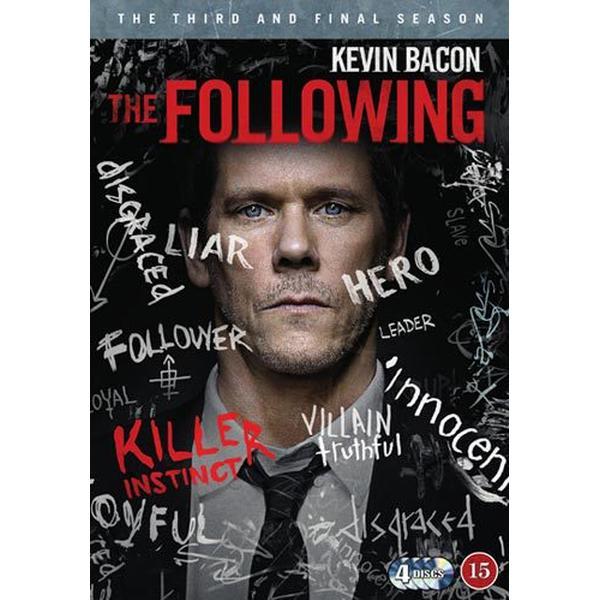 The Following: Säsong 3 (4DVD) (DVD 2015)