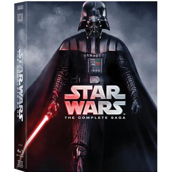Star Wars - The complete saga: Nyutgåva (9Blu-ray) (Blu-Ray 2015)