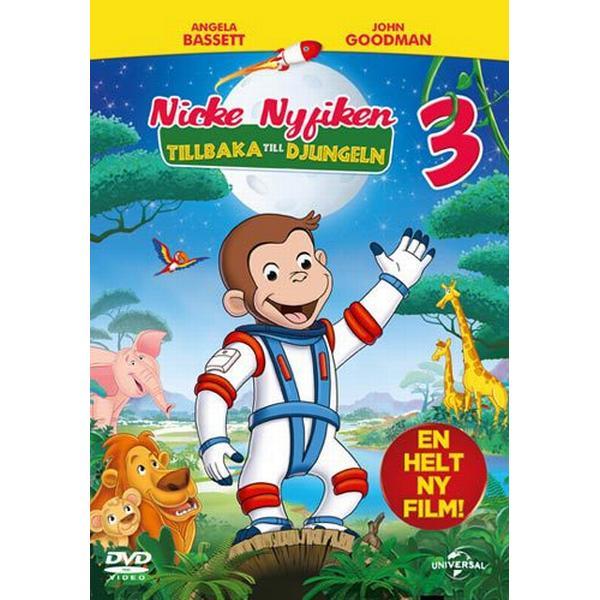 Nicke Nyfiken 3 - Tillbaka till djungeln (DVD) (DVD 2015)