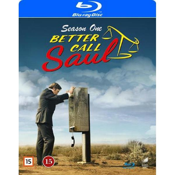 Better call Saul: Säsong 1 (3Blu-ray) (Blu-Ray 2015)