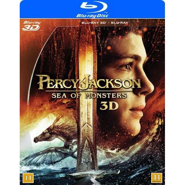 Percy Jackson 2: Monsterhavet 3D (Blu-ray 3D + Blu-ray) (3D Blu-Ray 2013)