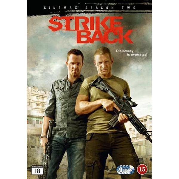 Strike back: Säsong 2 (4DVD) (DVD 2013)