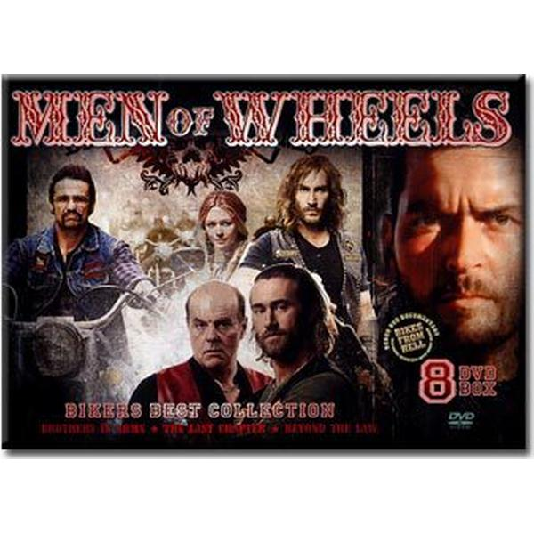 Men of bikers Box (8DVD) (DVD 2016)