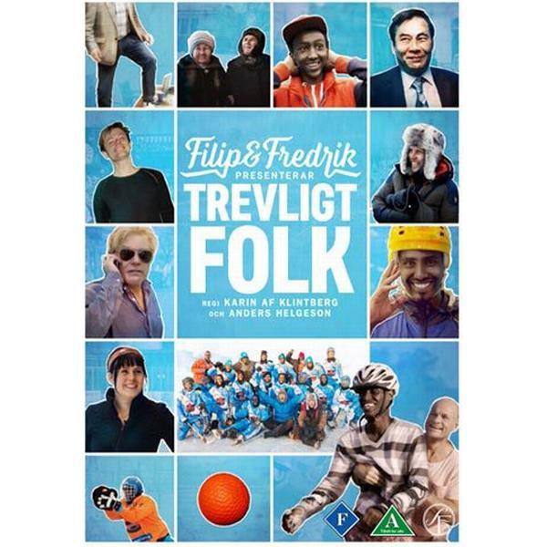 Filip & Fredrik presenterar Trevligt folk (DVD) (DVD 2014)