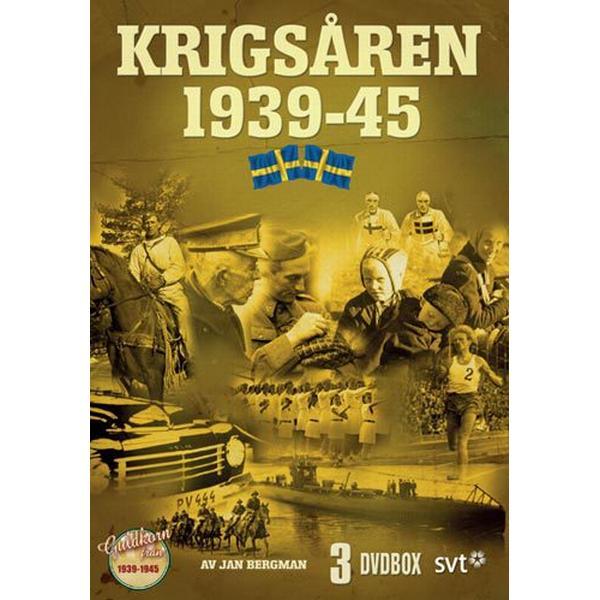 Året var 1939-1945 - Krigsåren box (3DVD) (DVD 2016)