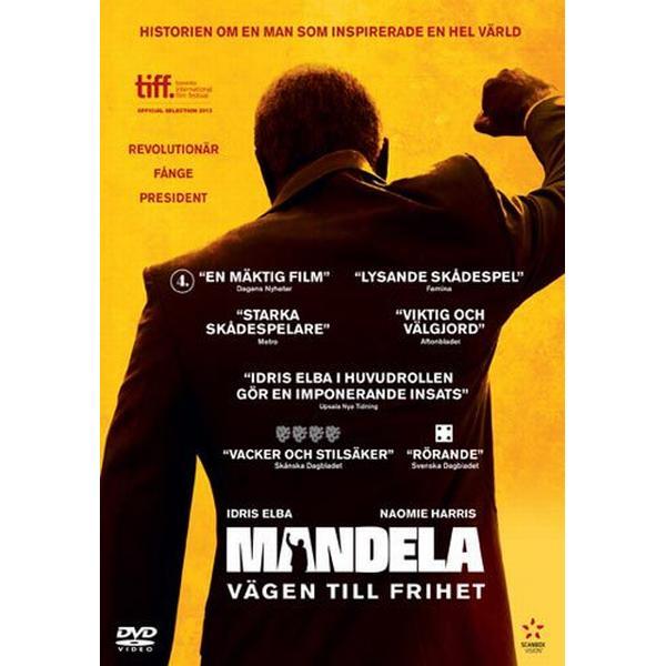 Mandela - Vägen till frihet (DVD) (DVD 2013)