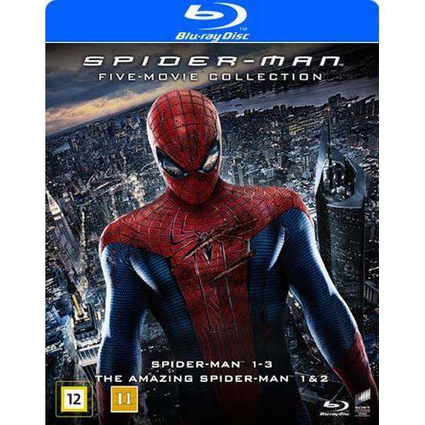 Spider-Man 5-movie collection (5Blu-ray) (Blu-Ray 2016)