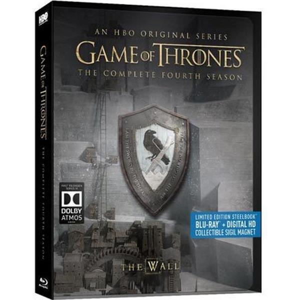 Game of thrones: Säsong 4 - Steelbook (5Blu-ray) (Blu-Ray 2014)