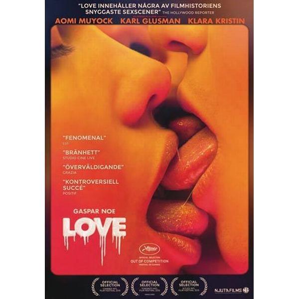 Love (Erotiskt drama) (DVD) (DVD 2015)