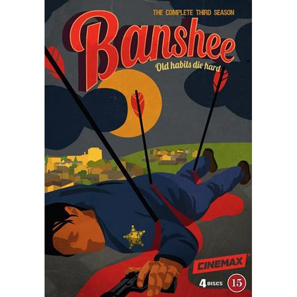 Banshee: Säsong 3 (4DVD) (DVD 2015)