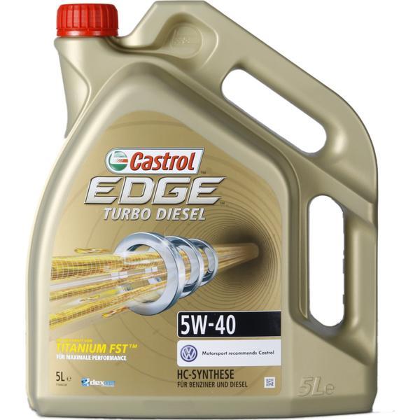 Castrol Edge Titanium FST Turbo Diesel 5W-40 5L Motorolie