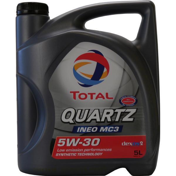 Total Quartz Ineo MC3 5W-30 Motorolie