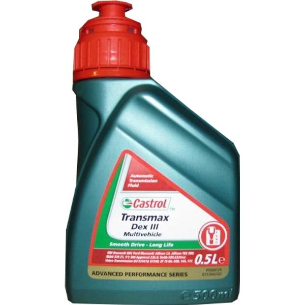 Castrol Transmax Dex III Multivehicle Automatic Transmission Oil