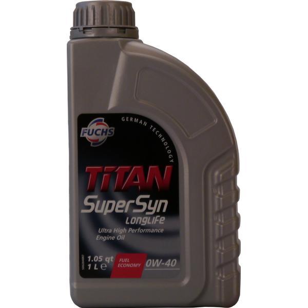 Fuchs Titan Supersyn Longlife 0W-40 Motor Oil