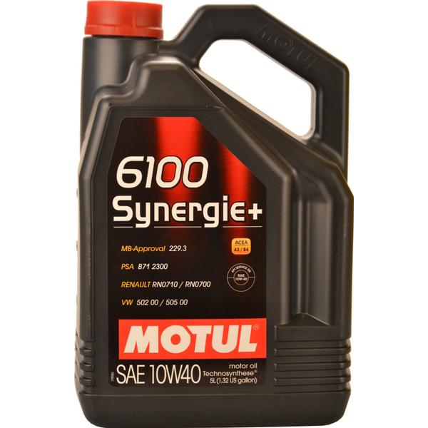 Motul 6100 Synergie+ 10W-40 Motor Oil