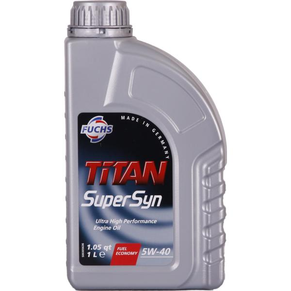 Fuchs Titan Supersyn 5W-40 Motor Oil