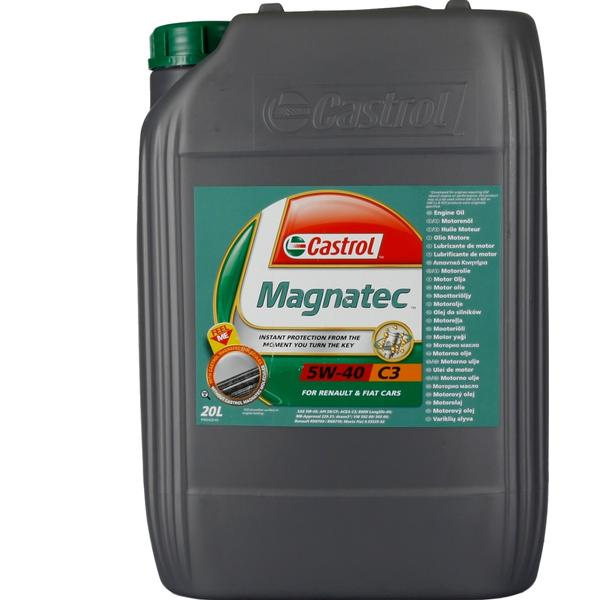 Castrol Magnatec 5W-40 C3 20L Motor Oil