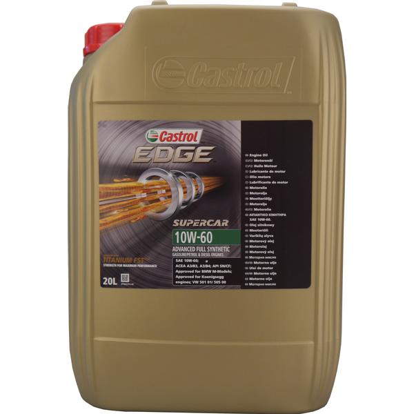 Castrol Edge Supercar 10W-60 Motor Oil