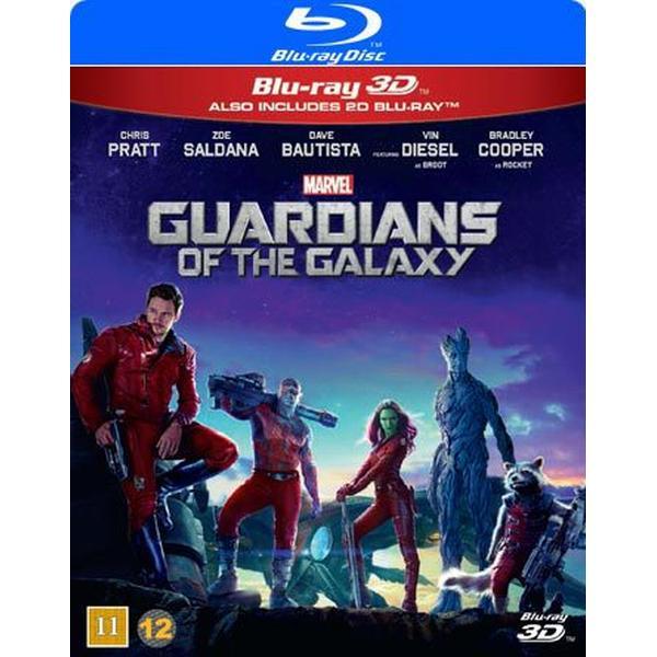 Guardians of the Galaxy 3D (Blu-ray 3D + Blu-ray) (3D Blu-Ray 2014)