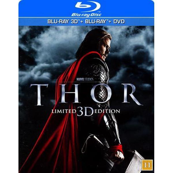 Thor 3D (Blu-ray 3D + Blu-ray + DVD) (3D Blu-Ray 2011)