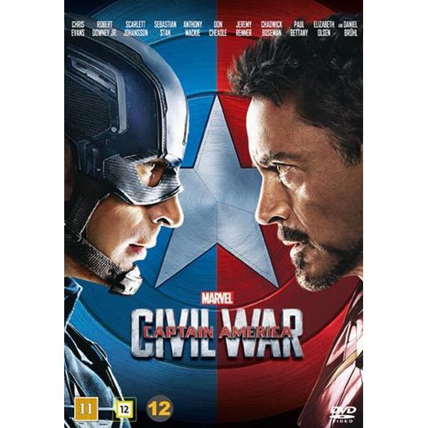 Captain America 3: Civil war (DVD) (DVD 2016)