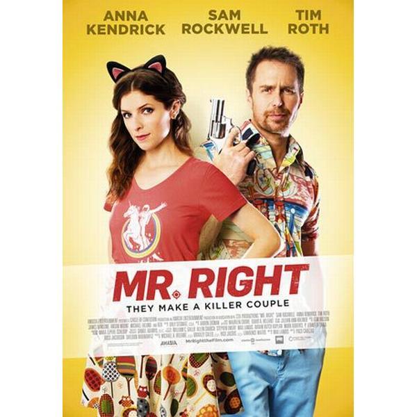 Mr Right (DVD) (DVD 2015)