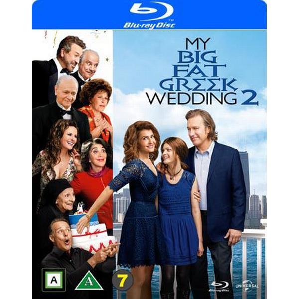 Mitt stora feta grekiska bröllop 2 (Blu-ray) (Blu-Ray 2016)