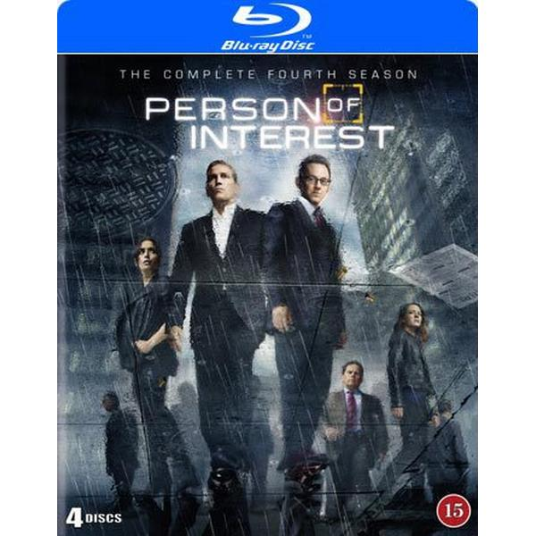 Person of interest: Säsong 4 (4Blu-ray) (Blu-Ray 2016)