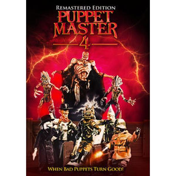 Puppet Master 4 (Remastered) (DVD) (DVD 2016)