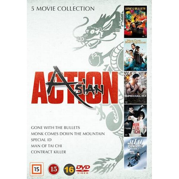 Asian action collection - 5 filmer (5DVD) (DVD 2016)