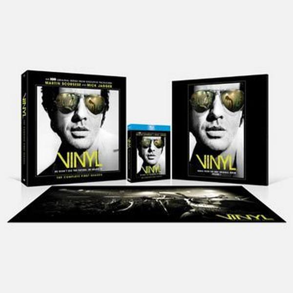 Vinyl: Säsong 1 Lim.edition inkl. soundtrack (4Blu-ray) (Blu-Ray 2016)