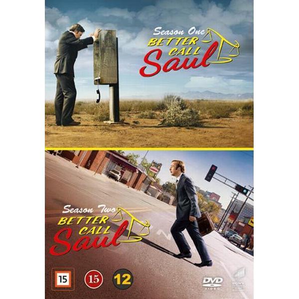 Better call Saul: Säsong 1+2 (6DVD) (DVD 2016)
