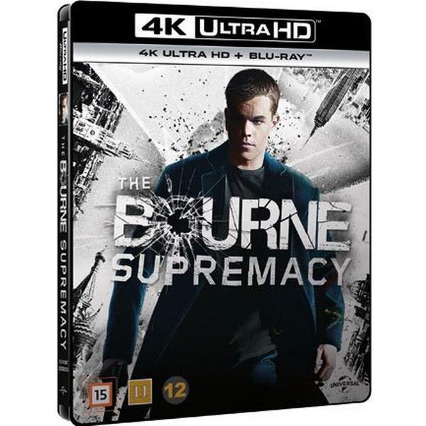 Bourne supremacy (4K Ultra HD + Blu-ray) (Unknown 2016)