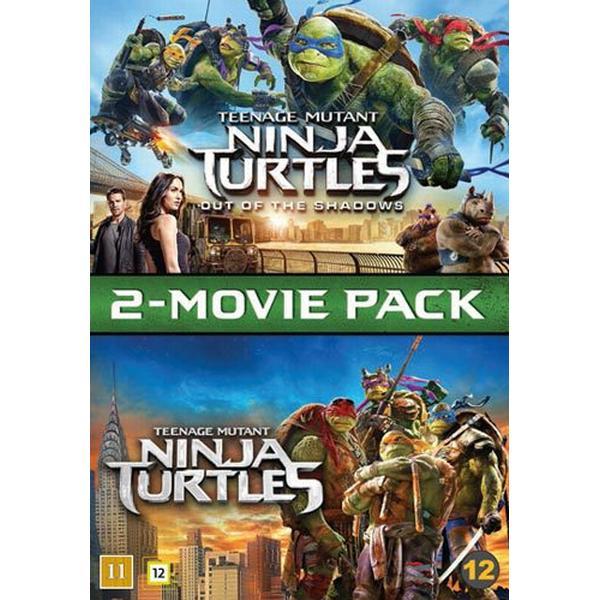 Teenage Mutant Ninja Turtles 1+2 (2DVD) (DVD 2016)