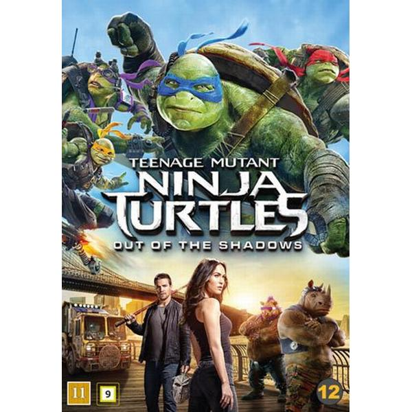 Teenage Mutant Ninja Turtles 2 - Out of the ... (DVD) (DVD 2016)