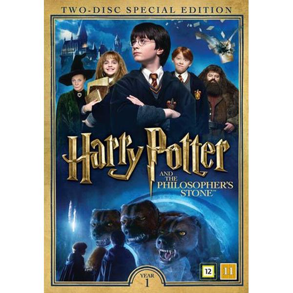 Harry Potter 1 + Dokumentär (2DVD) (DVD 2016)
