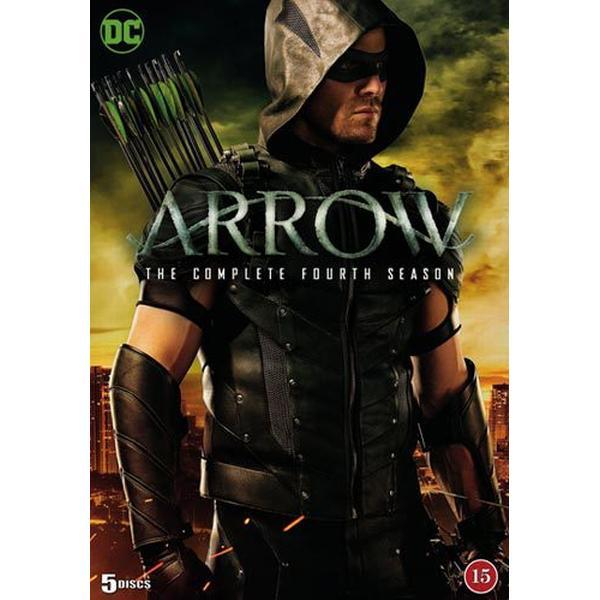Arrow: Säsong 4 (5DVD) (DVD 2016)