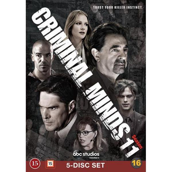 Criminal Minds: Säsong 11 (5DVD) (DVD 2016)