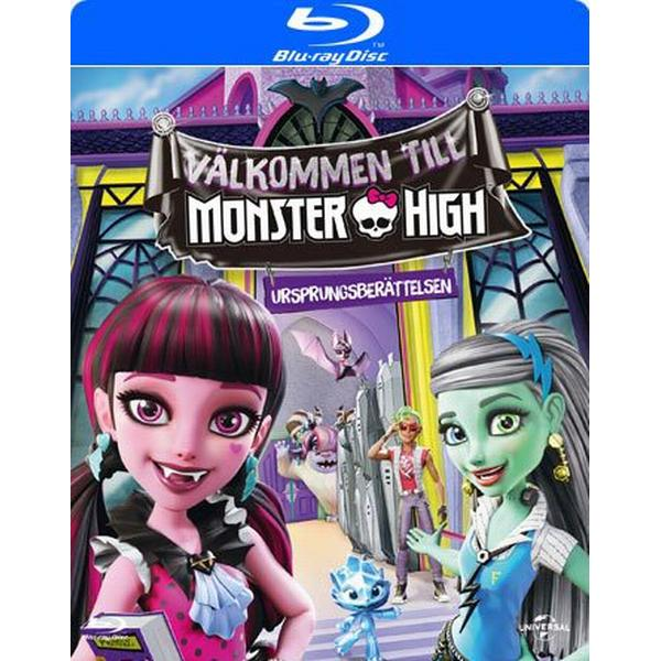 Välkommen till Monster High (Blu-ray) (Blu-Ray 2016)
