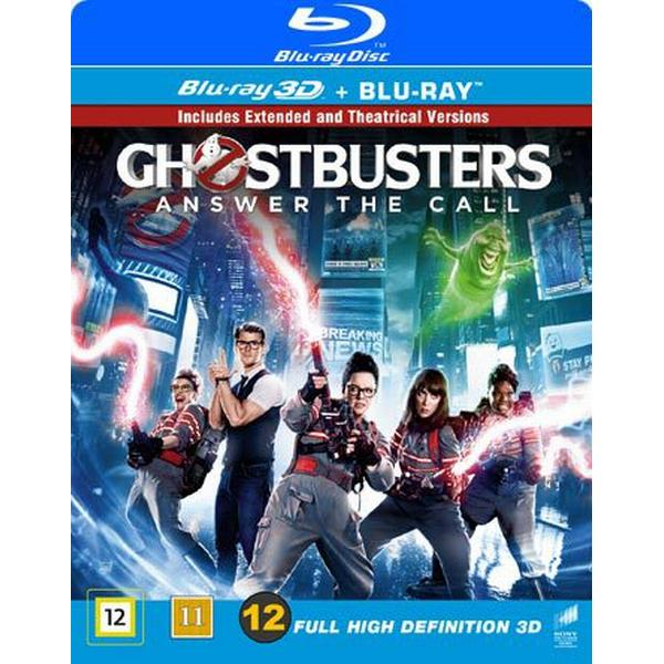 Ghost Busters 3D - 2016: Extended edition (Blu-ray 3D + Blu-ray) (3D Blu-Ray 2016)